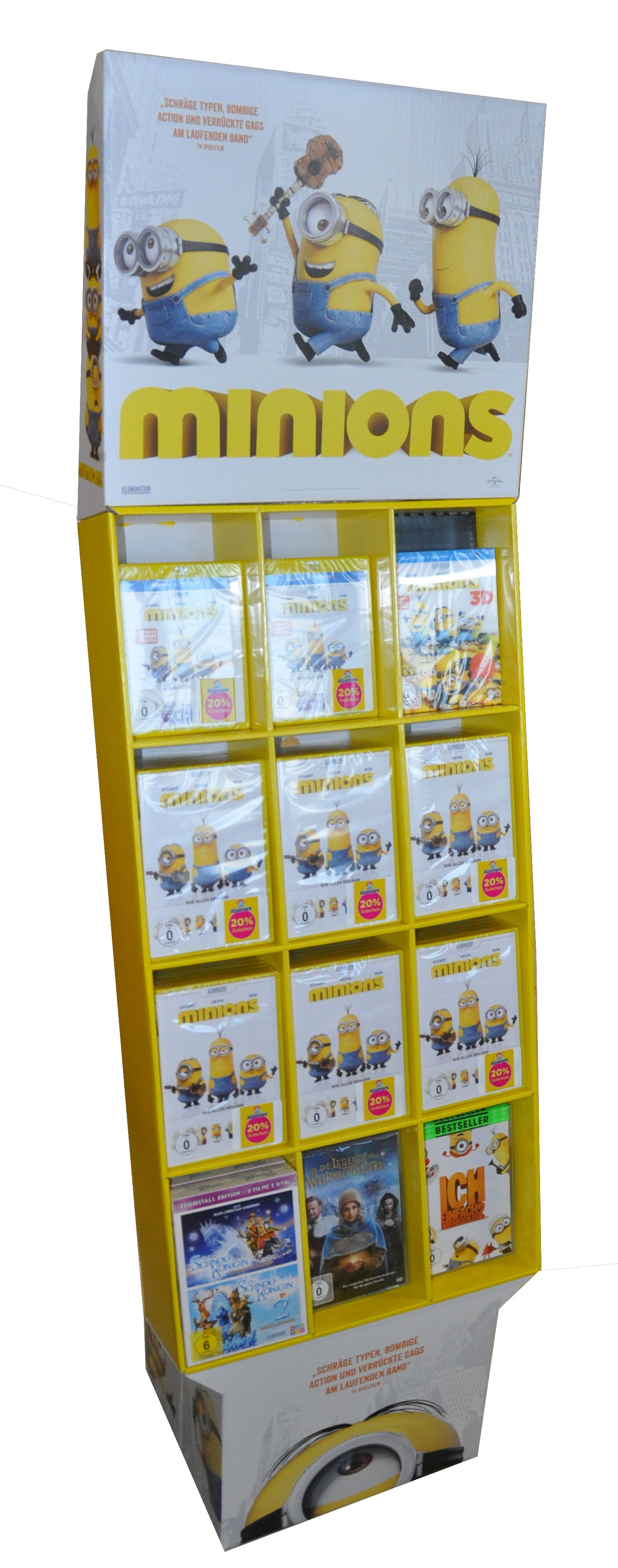Logo - Bodendisplay Minions